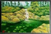 Lukisan Cat Minyak Landscape 0005