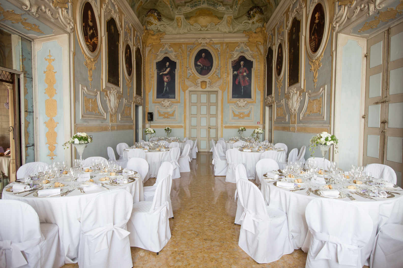 italian wedding castle