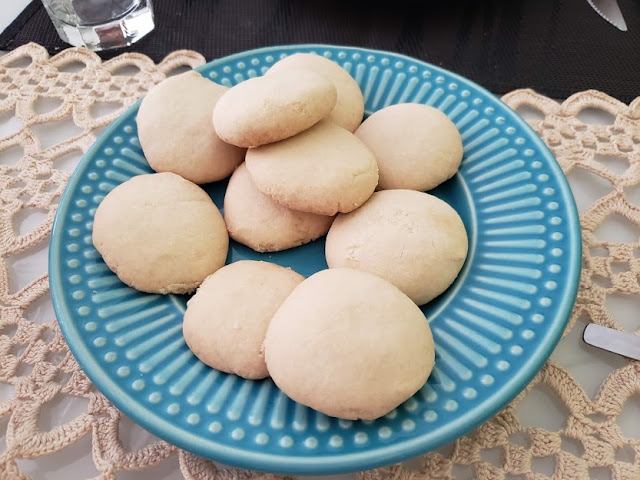 Receita simples de biscoito amanteigado