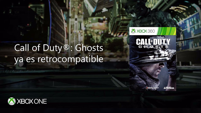 Call Of Duty Ghosts ya es retrocompatible en Xbox One