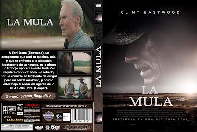 CARATULA LA MULA - THE MULE - 2018 [COVER DVD]