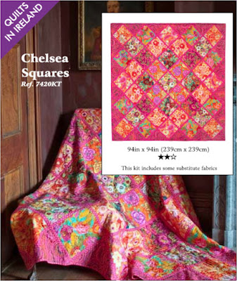 Chelsea Squares from Quilts in Ireland