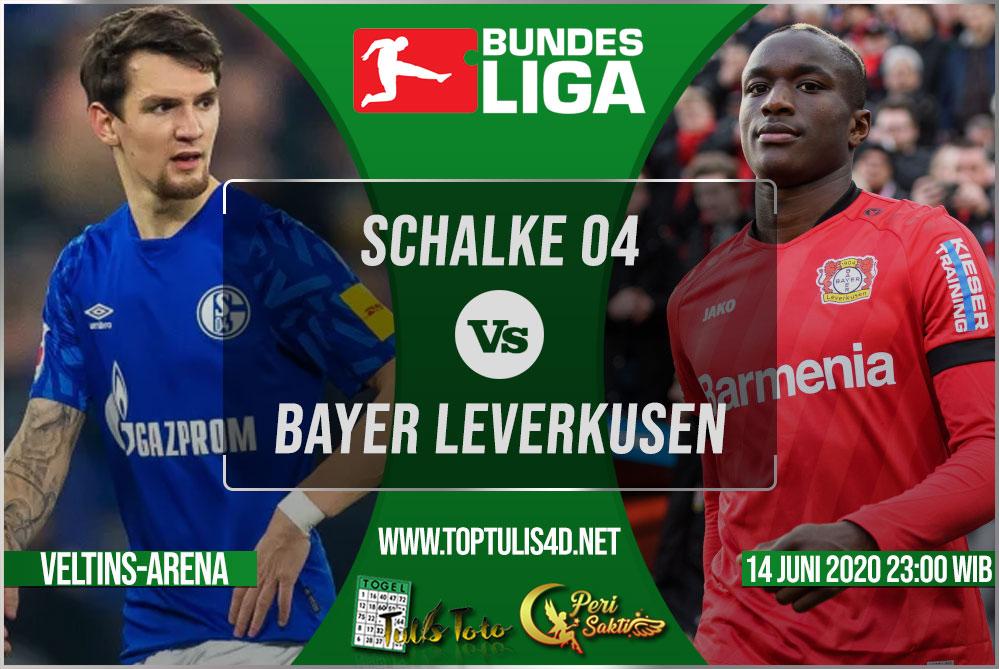 Prediksi Schalke 04 vs Bayer Leverkusen 14 Juni 2020