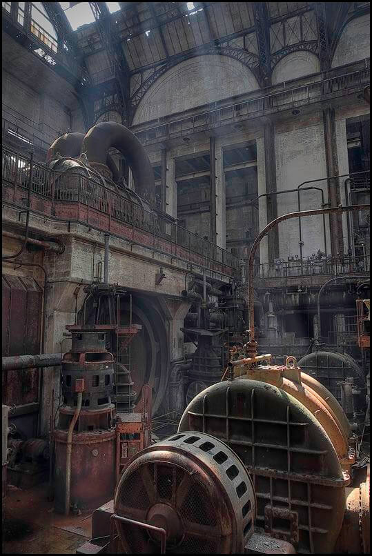 abandoned generating station