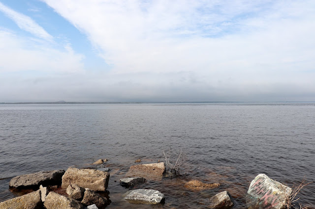 Not the ocean, but the Ottawa river! Awesome!