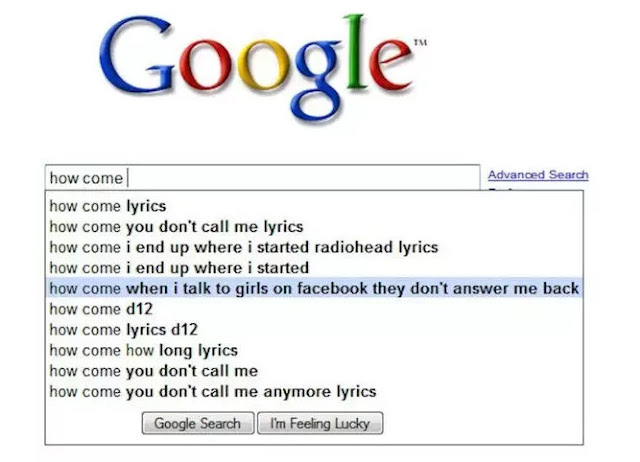 22 Most Funniest Google Search Terms to Make Your Day
