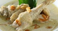 Resep Opor Ayam Putih Gurih