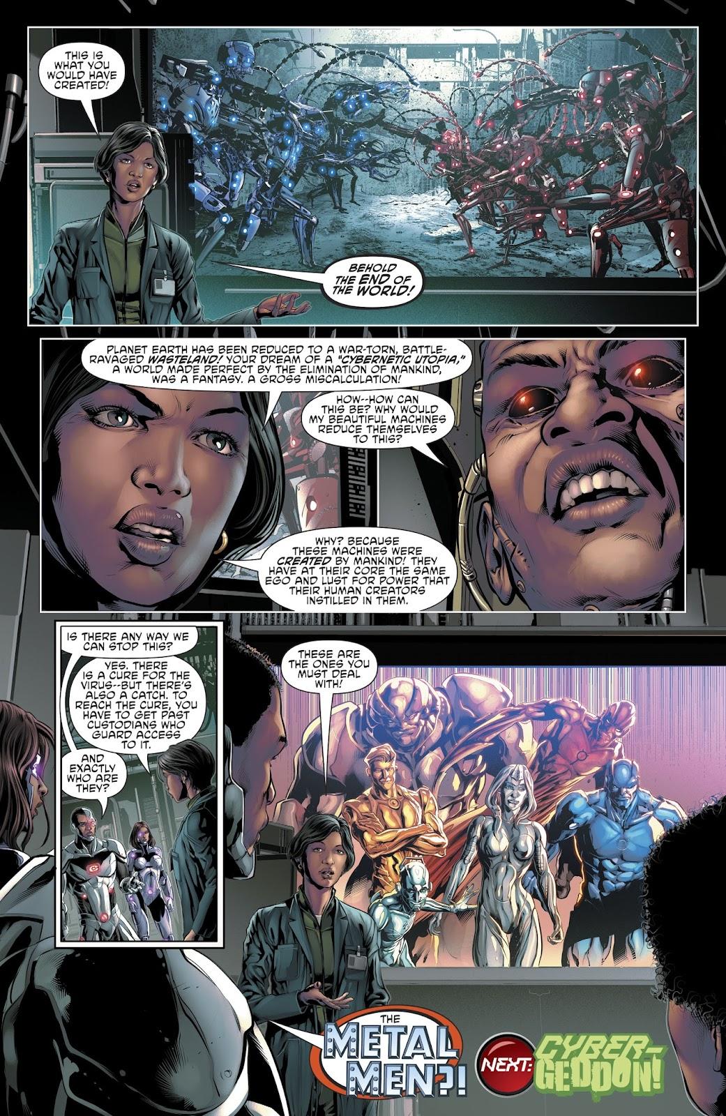 Read online Cyborg (2016) comic -  Issue #14 - 23