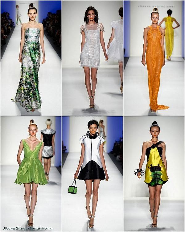 JoannaMastroianni S/S2014 runway dresses