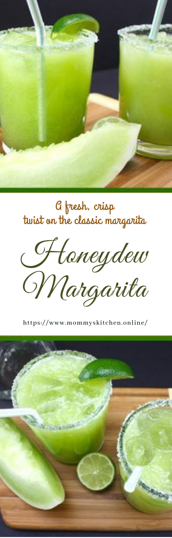 Honeydew Margarita #cocktail #fresh