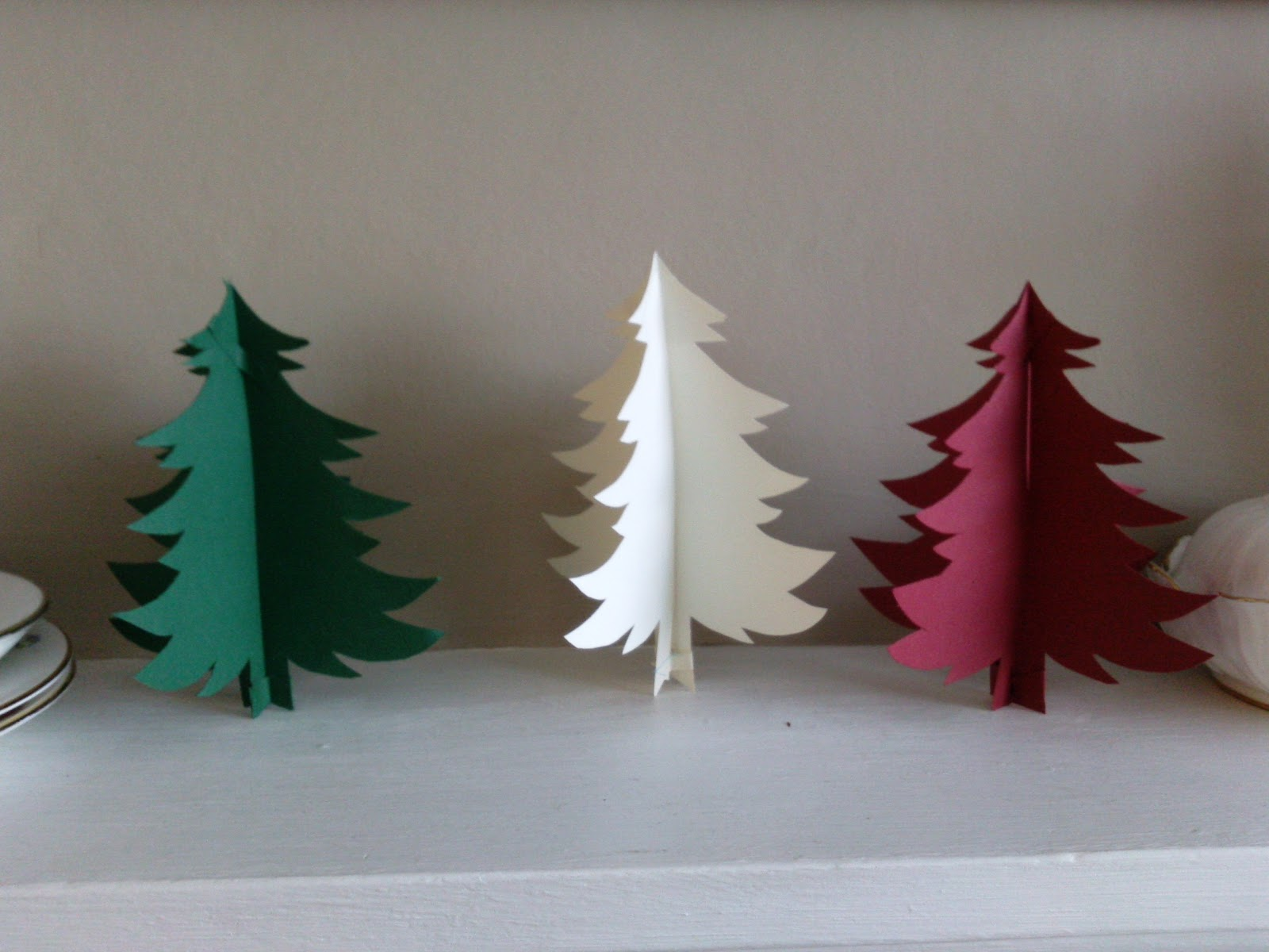 Crafty Bitch: Free Christmas Tree Template