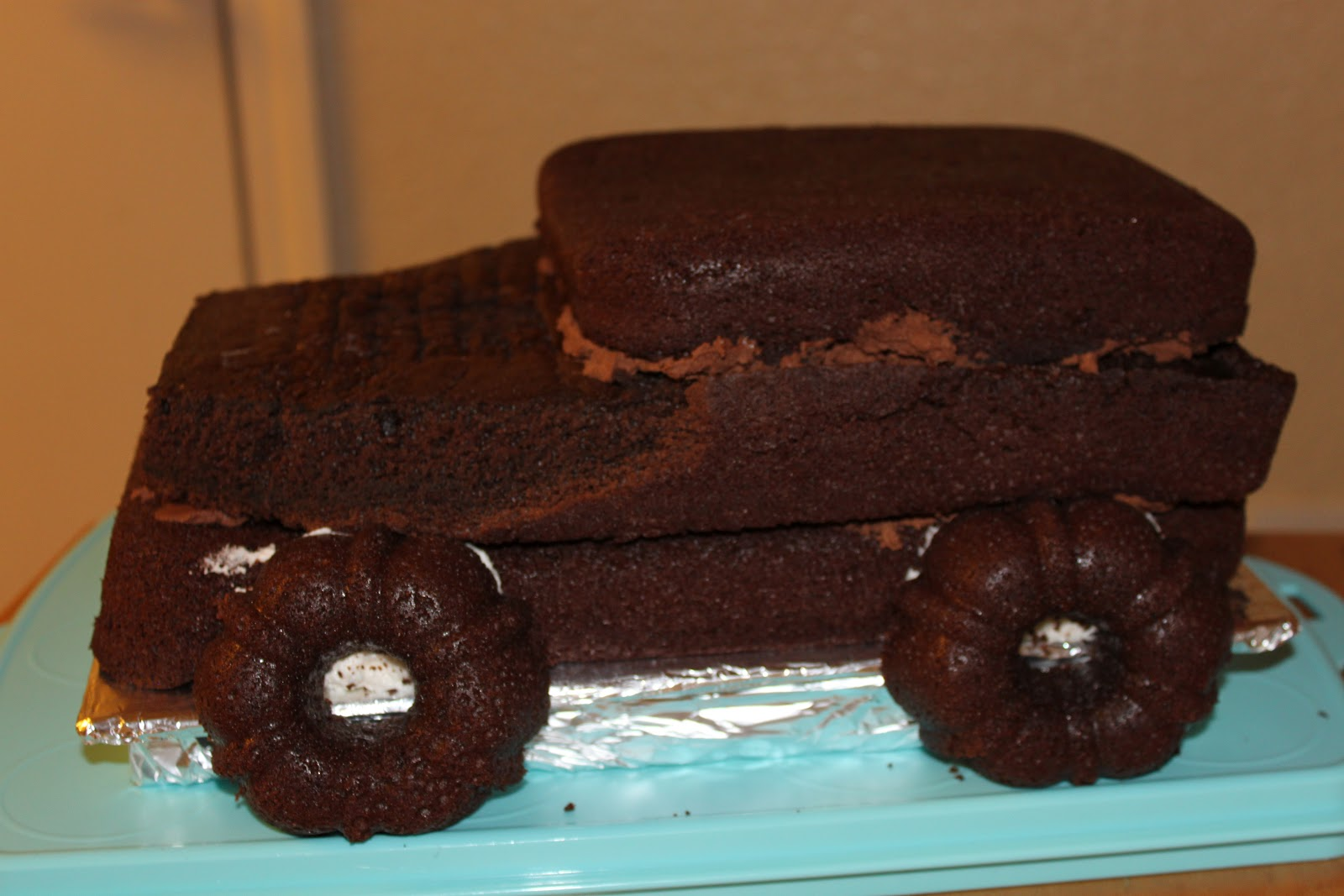 How To Make A D Jeep Cake