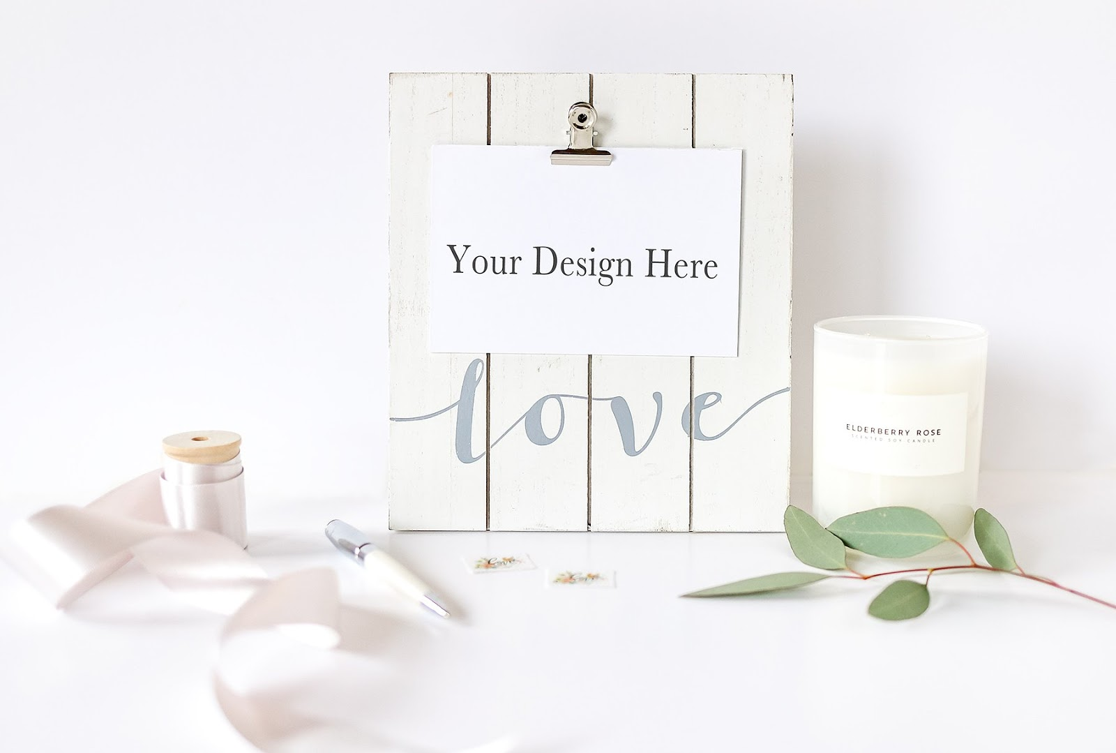 Love Board Card Mockup
