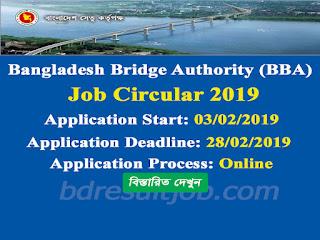 BBA Job Circular 2019