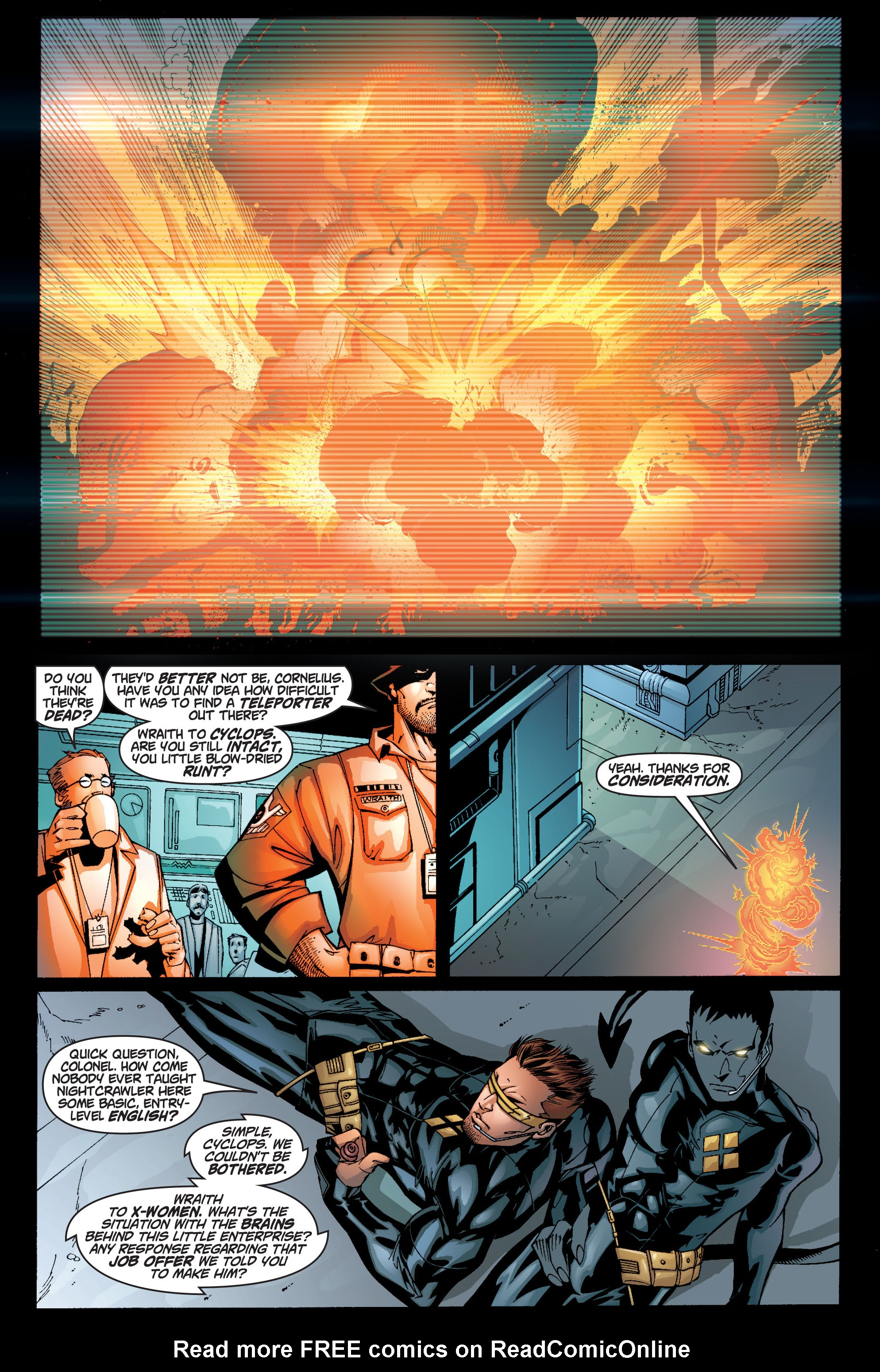 Read online Ultimate X-Men comic -  Issue #10 - 12