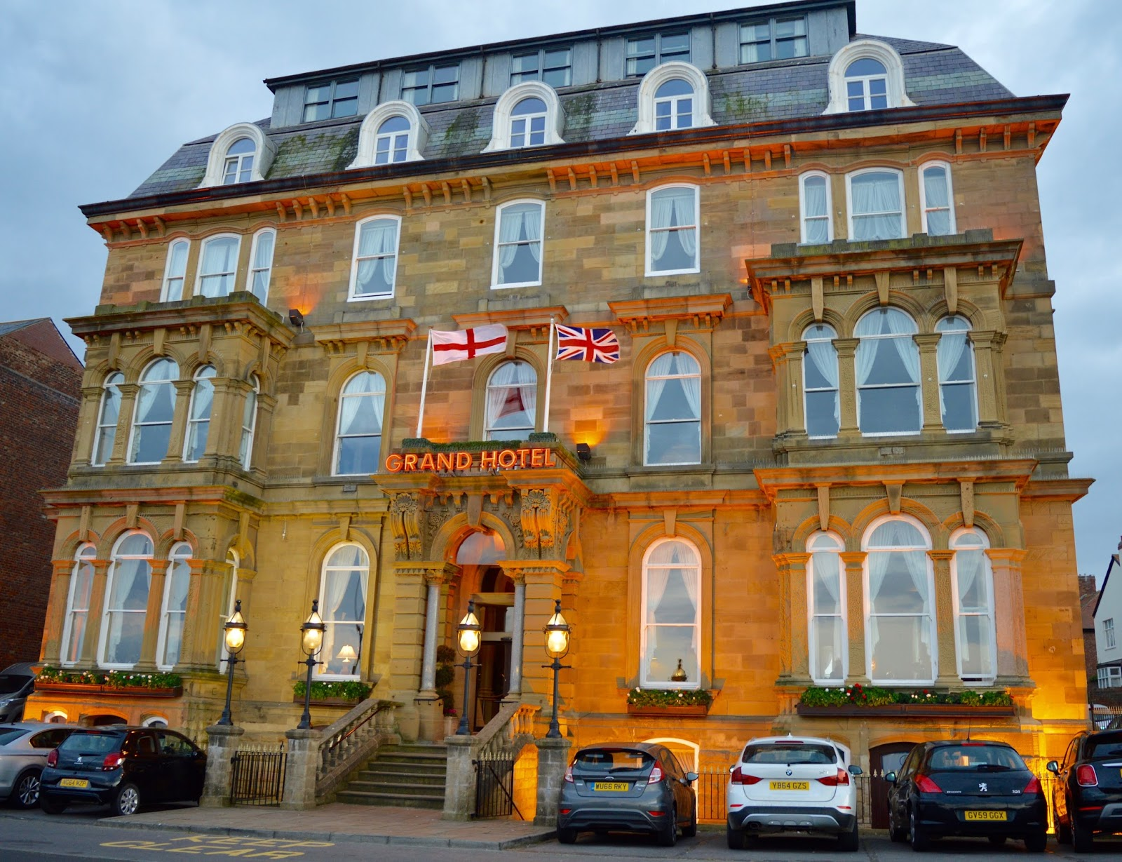 The Brasserie at the Grand Hotel, Tynemouth | New Tasting Menu review  - exterior