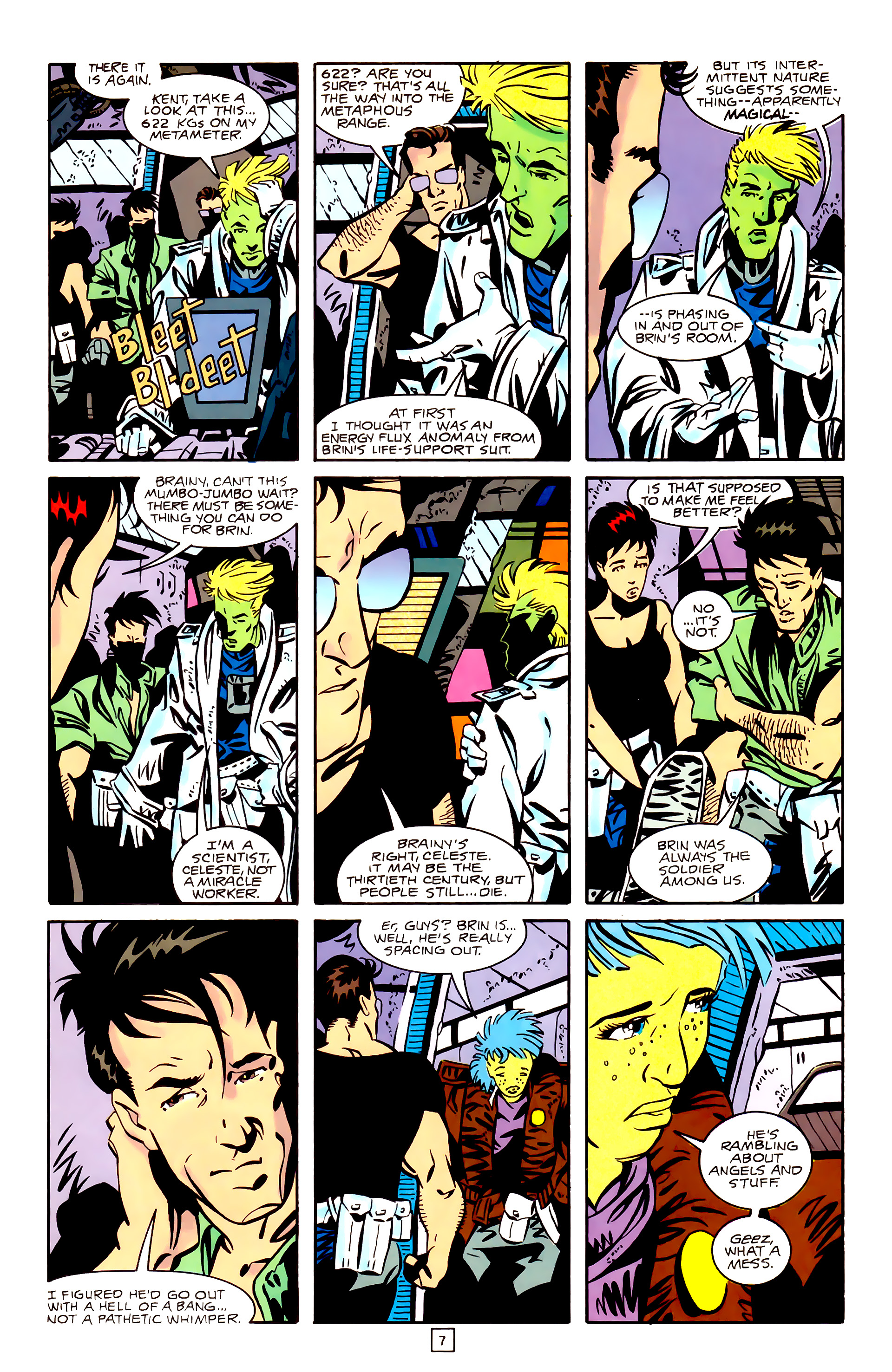 Legion of Super-Heroes (1989) _Annual_3 Page 7