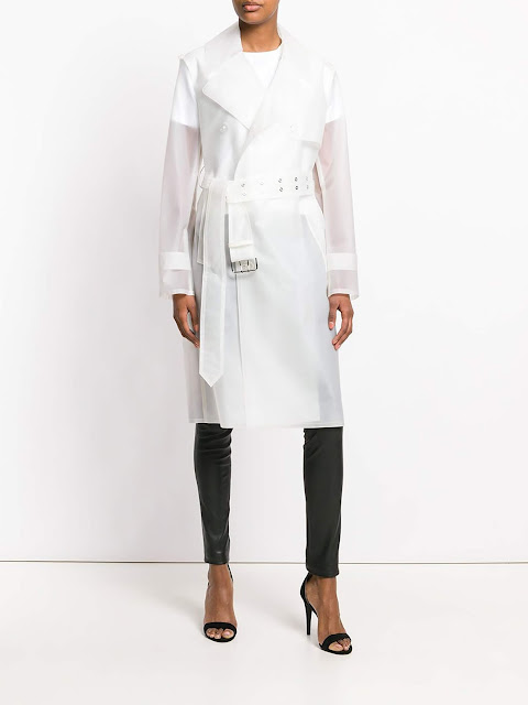 HELMUT LANG FETISH TRENCH COAT