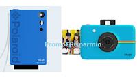 Logo Concorso ''Fissan ama i tuoi ricordi'': vinci 25 Polaroid Mint Instant Print Camera Blue + 25 Polaroid Snap  Touch Blue