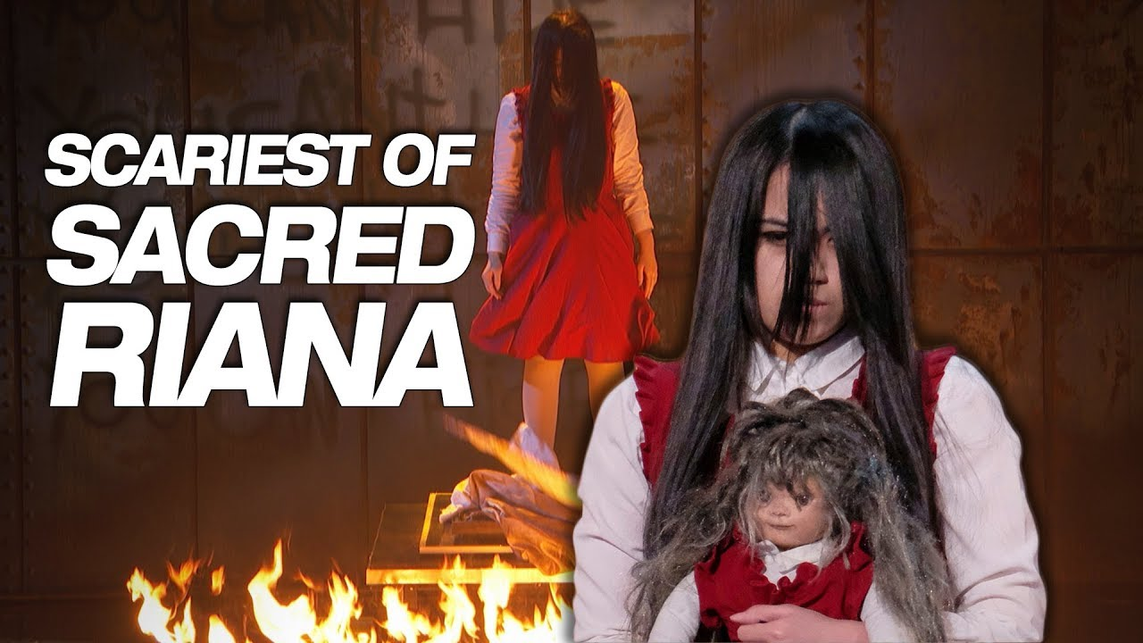 Fresh Life Post: Scariest Magician EVER! The Sacred Riana