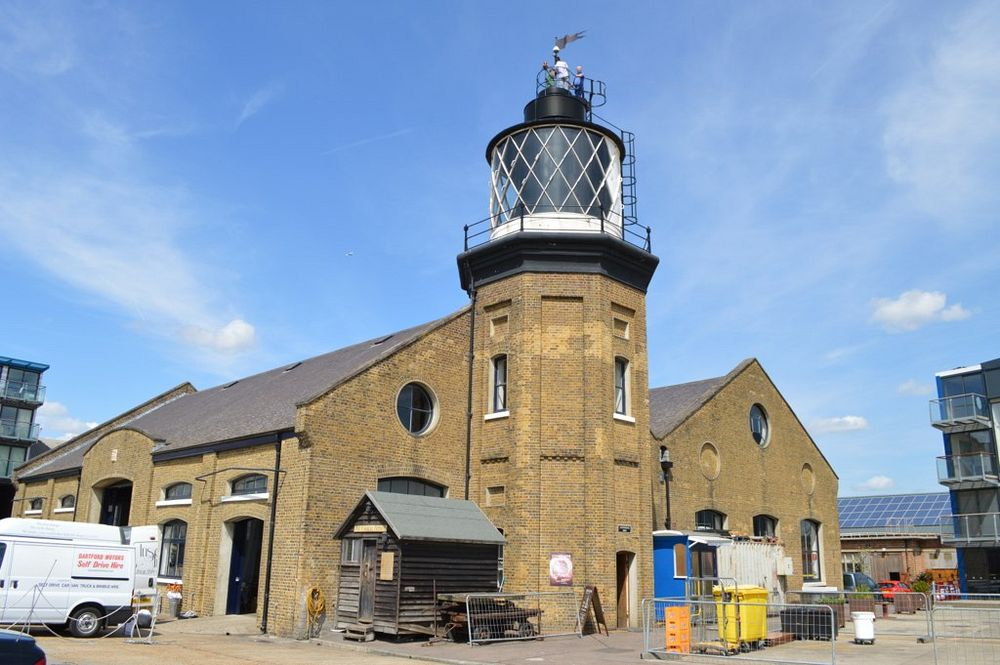 Trinity Buoy Wharf lighthouse