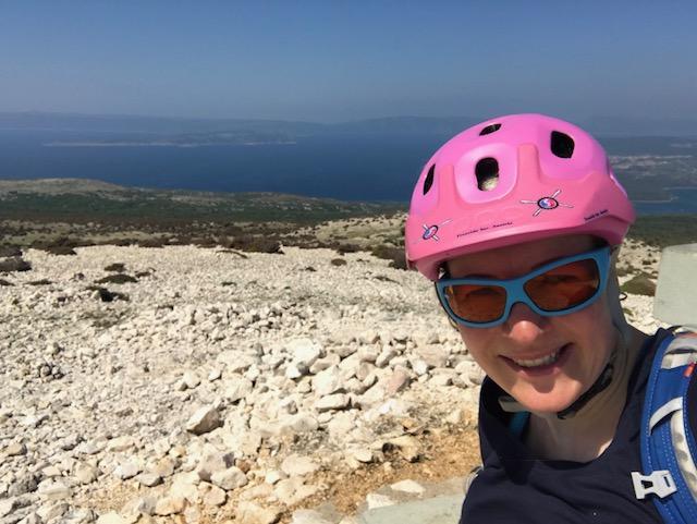 trail krk kroatien insel aussicht obzova mountainbike bike mtb