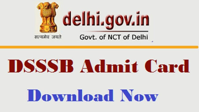 DSSSB Junior Clerk 2017 Admit Card Download