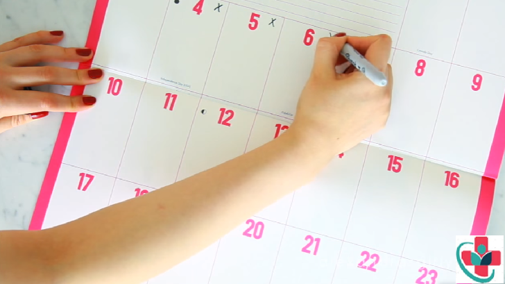Guide on how to predict your fertile days using calendar method