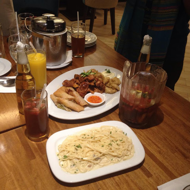 Barkada meal package at Halo Restaurant at St Mark Hotel Cebu City Philippines