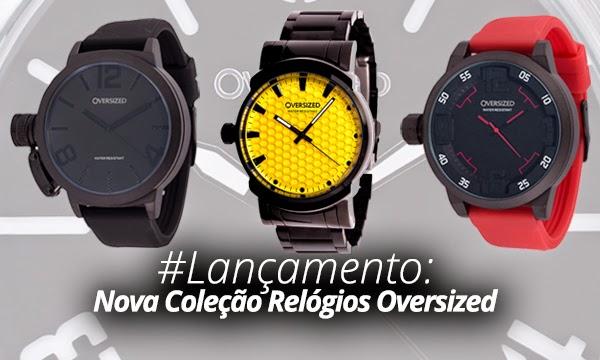 a190993895b Baú da Moda Masculina  Relógios Oversized aposta no Dark Black em ...