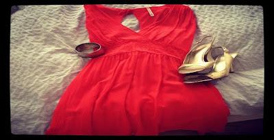 maquillaje para vestido rojo