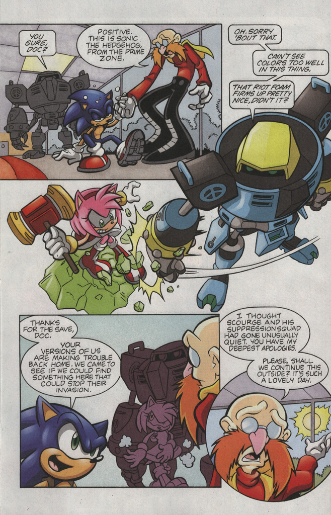 Read online Sonic The Hedgehog comic -  Issue #193 - 6
