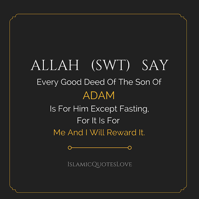 And getting our reward from Allah.