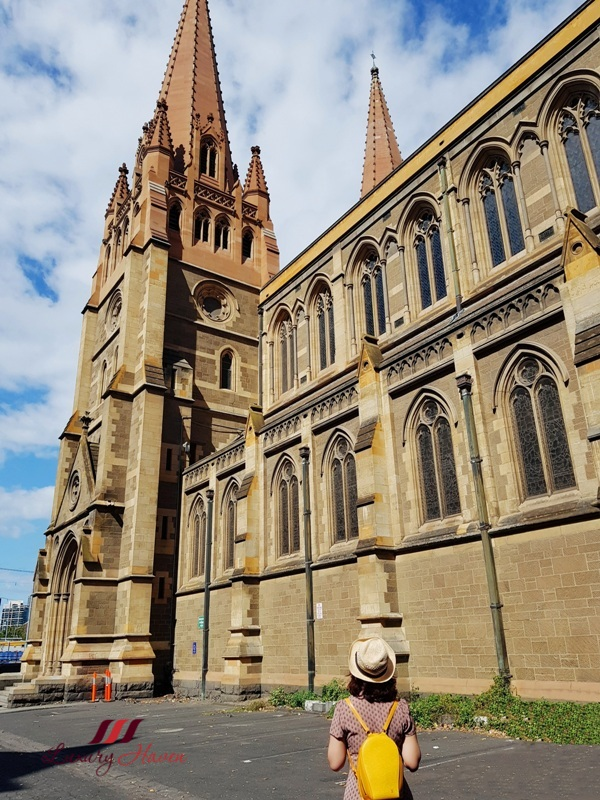 insta worthy spots in melbourne st paul cathedral