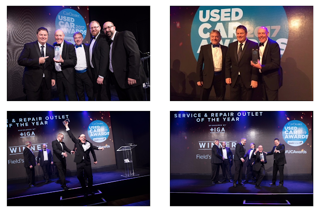 Fields Car Centre, Workshop Magazine Awards, Presentation