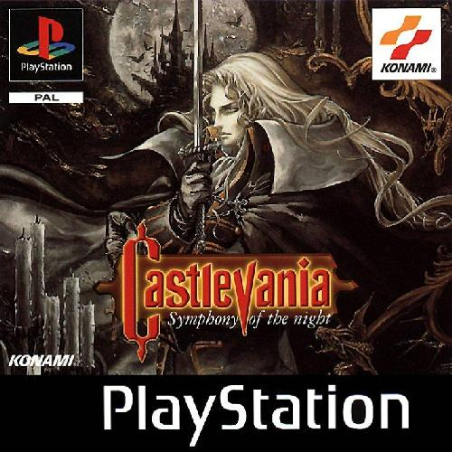 Castlevania: Symphony of the Night - PSX - Portada
