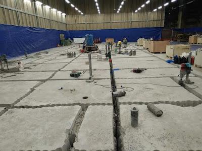 Khoan cắt bê tông khu công nghiệp An Hạ