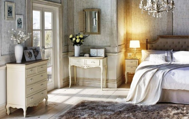 ivory vintage bedroom furniture