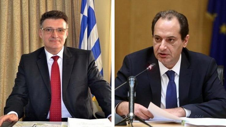 Επιστολή Πέτροβιτς στον Σπίρτζη για τη διευκόλυνση των διαδικασιών αποκατάστασης των κατοικιών της Σαμοθράκης