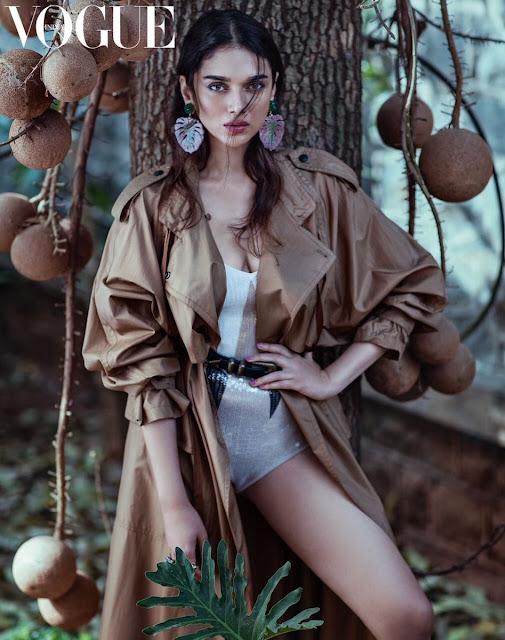 Aditi Rao Hydari Vogue india Magazine cover photos