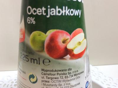 Pierwsze wrażenie | Płukanka z octu jabłkowego