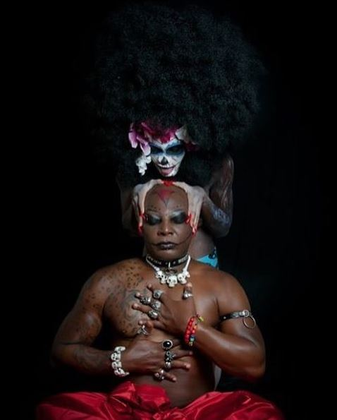 "Oputa Charly Boy shares New Photos with his ""Virgins"