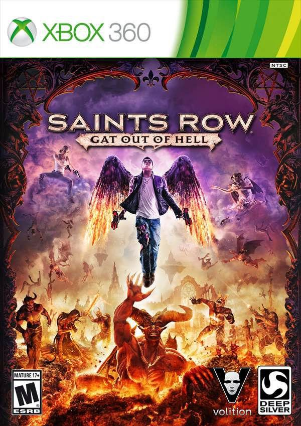 Saints Row Gat Out Of Hell Multilenguaje ESPAÑOL XBOX 360