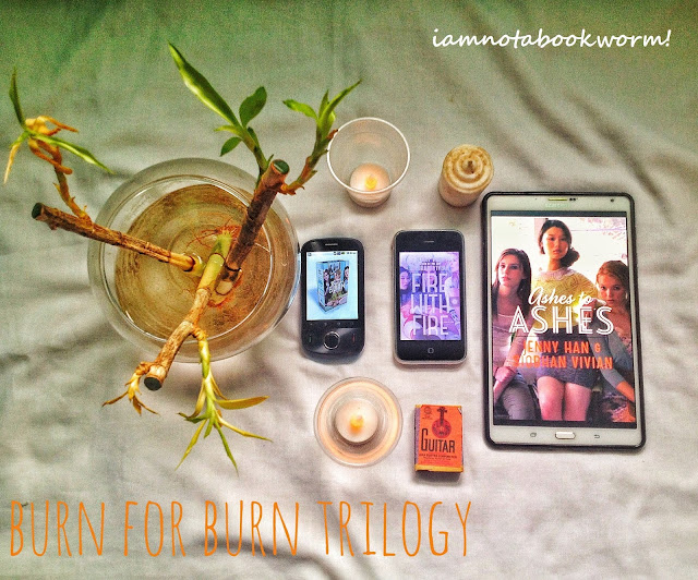 Burn for Burn Trilogy by Jenny Han and Siobhan Vivian book review
