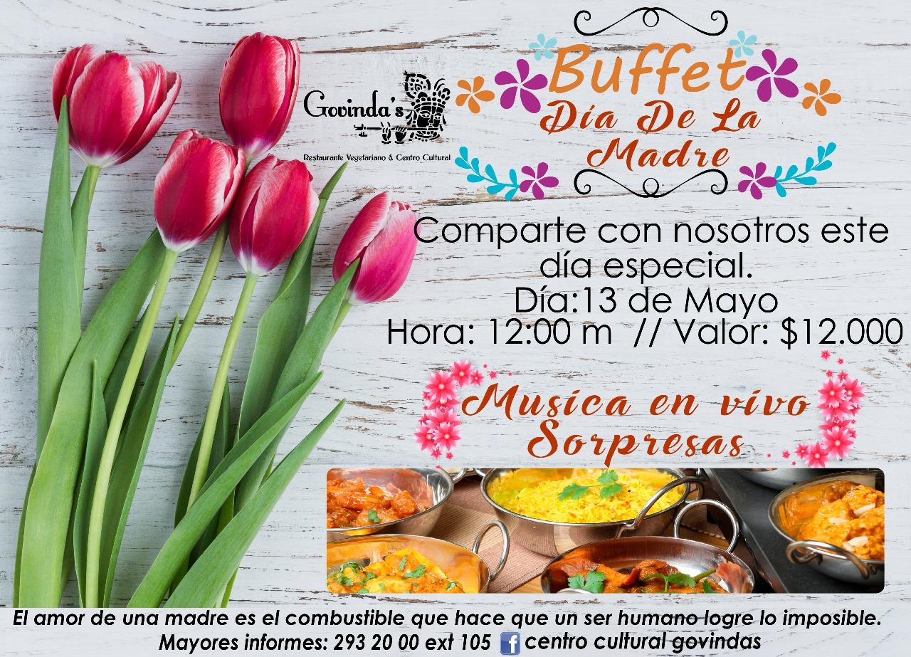buffet, madre, mayo, dia, especial