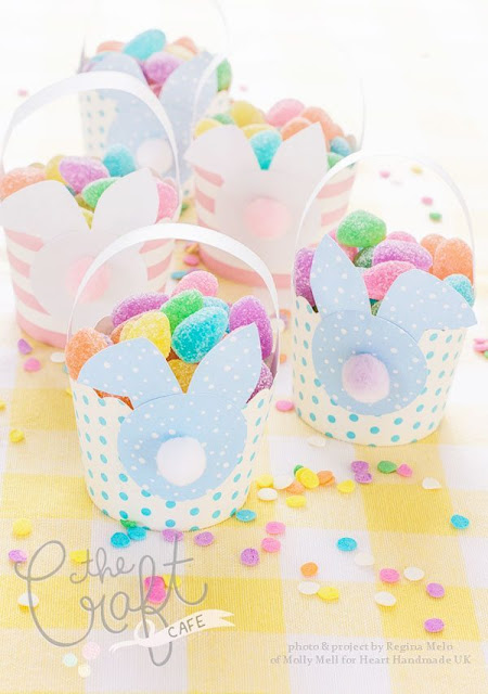mini easter baskets diy