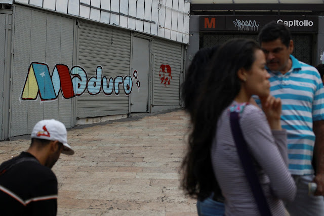 Una campaña por la renuncia de Maduro recorre el país a días del #20may.