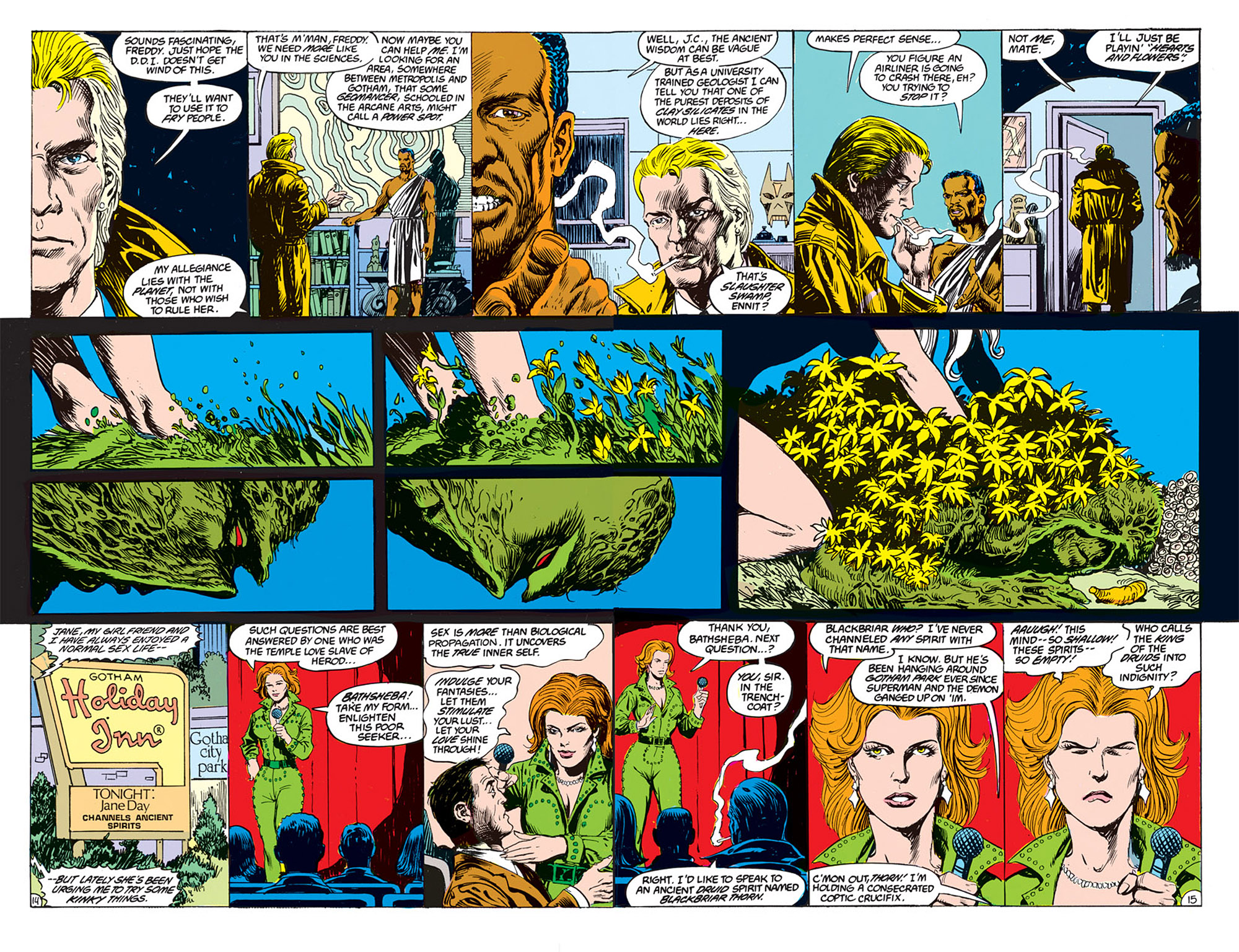 Swamp Thing (1982) Issue #70 #78 - English 9