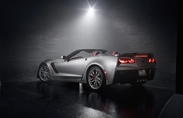 2015 Chevrolet Corvette Z06 convertible grey