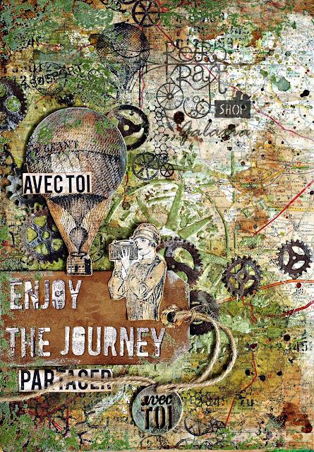 Art journal - Podróż w nieznane